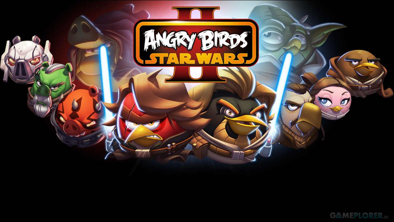 Angry Birds Star Wars 2 Plush Toys Wallpaper Com Imagens