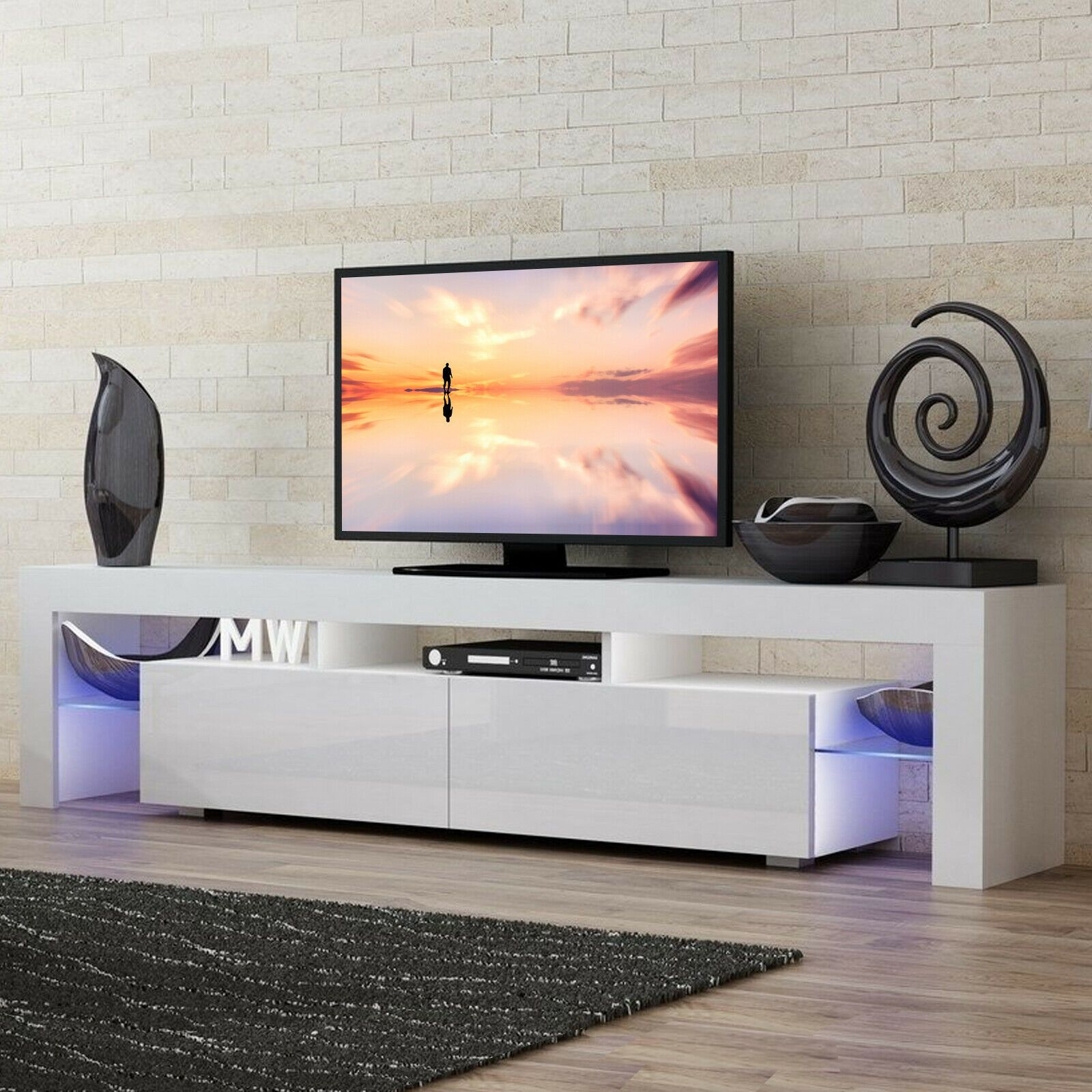 Pin By Cyndel On My Space Modern Tv Stand Living Rooms White Tv Stands Bedroom Tv Stand