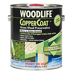 Protect And Preserve Below Ground Outdoor Wood With Rust Oleum Wolman Woodlife Coppercoat This Unique For Green Wood Termite Control Wood Sealer