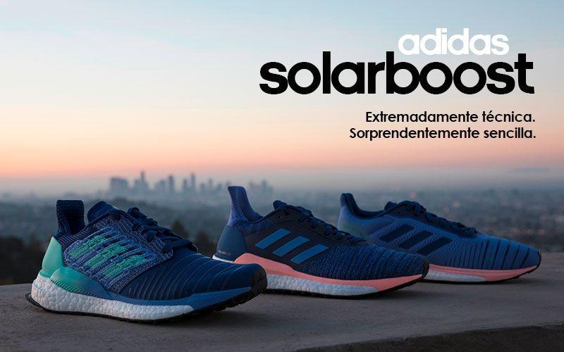 new concept 07a93 4c5e1 Las zapatillas adidas SolarBoost para mujer presentan un diseño versátil  que te aportará una gran comodidad