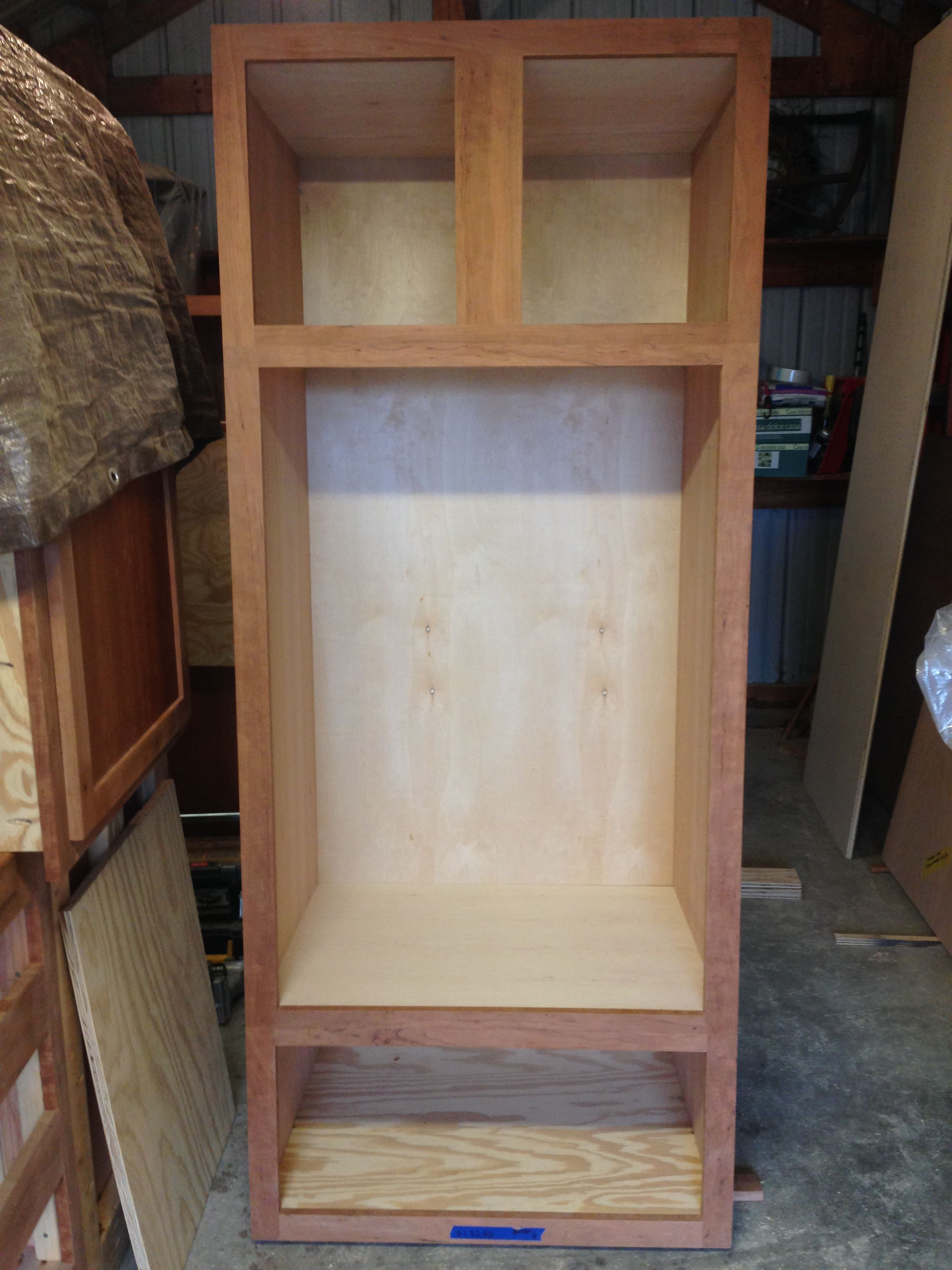 My Quot Cherry Quot Wall Oven Cabinet Large Drawer Underneath