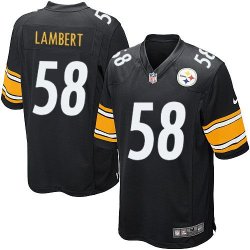 d851512a1 Nike Limited Jack Lambert Black Youth Jersey - Pittsburgh Steelers  58 NFL  Home
