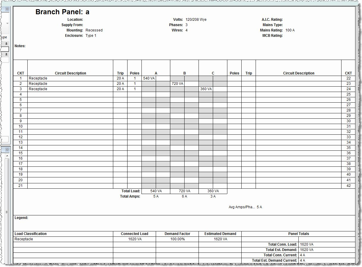 Circuit Breaker Panel Label Template Excel New Panel