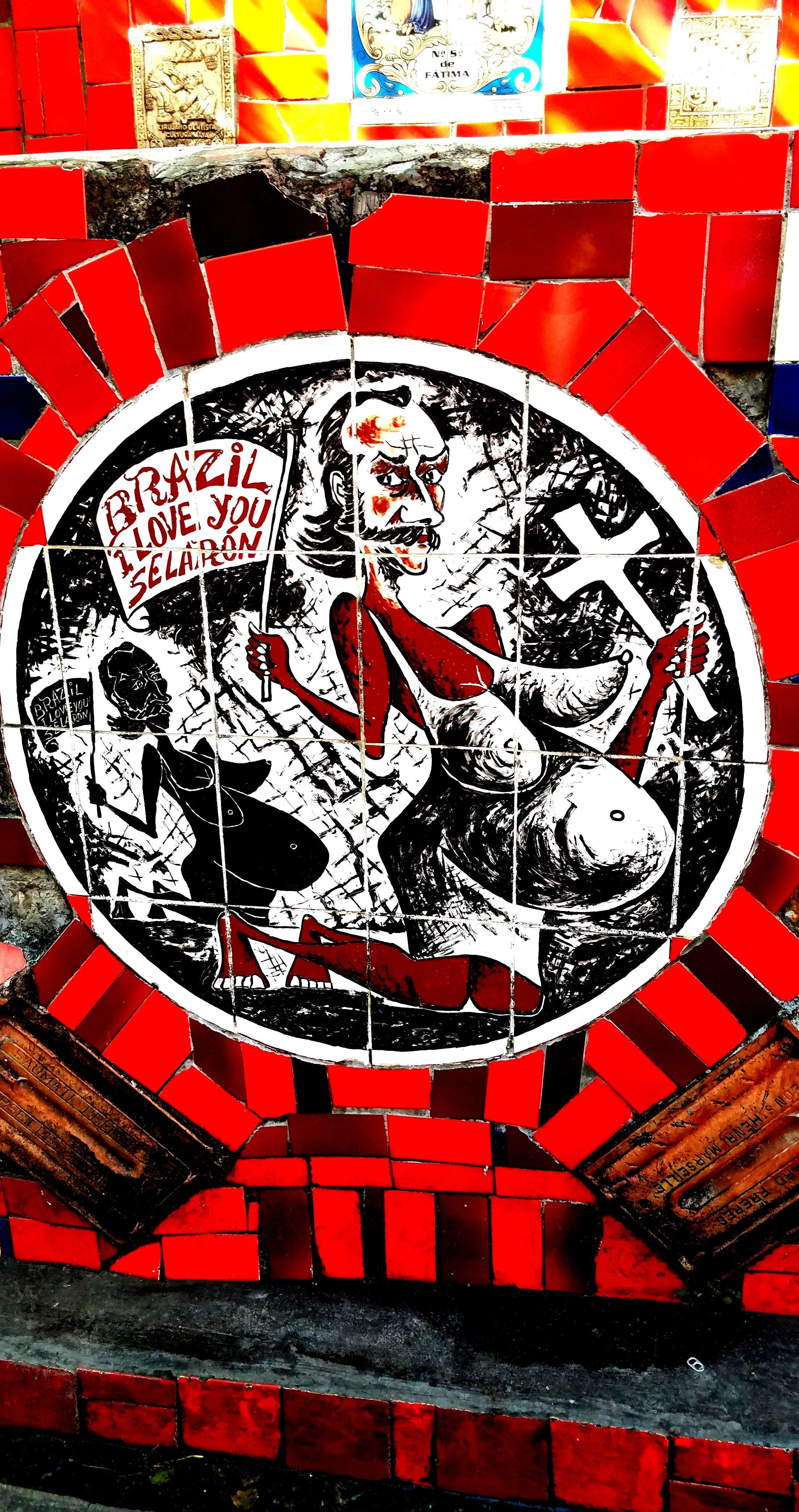 Color art and empire by natasha eaton - Rio De Janeiro Brasil Mosaic Ceramic Tile Art From The Lapa Neighborhood Centro