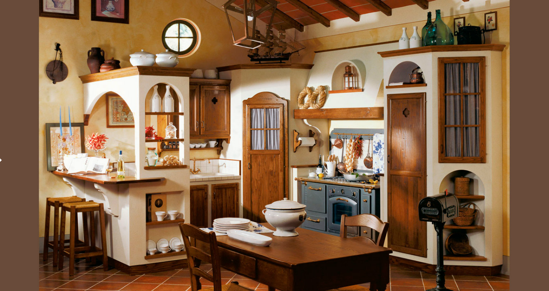 Cucine da sogno in muratura cerca con google casa dolce casa pinterest kitchen tuscan - Mensole cucina country ...