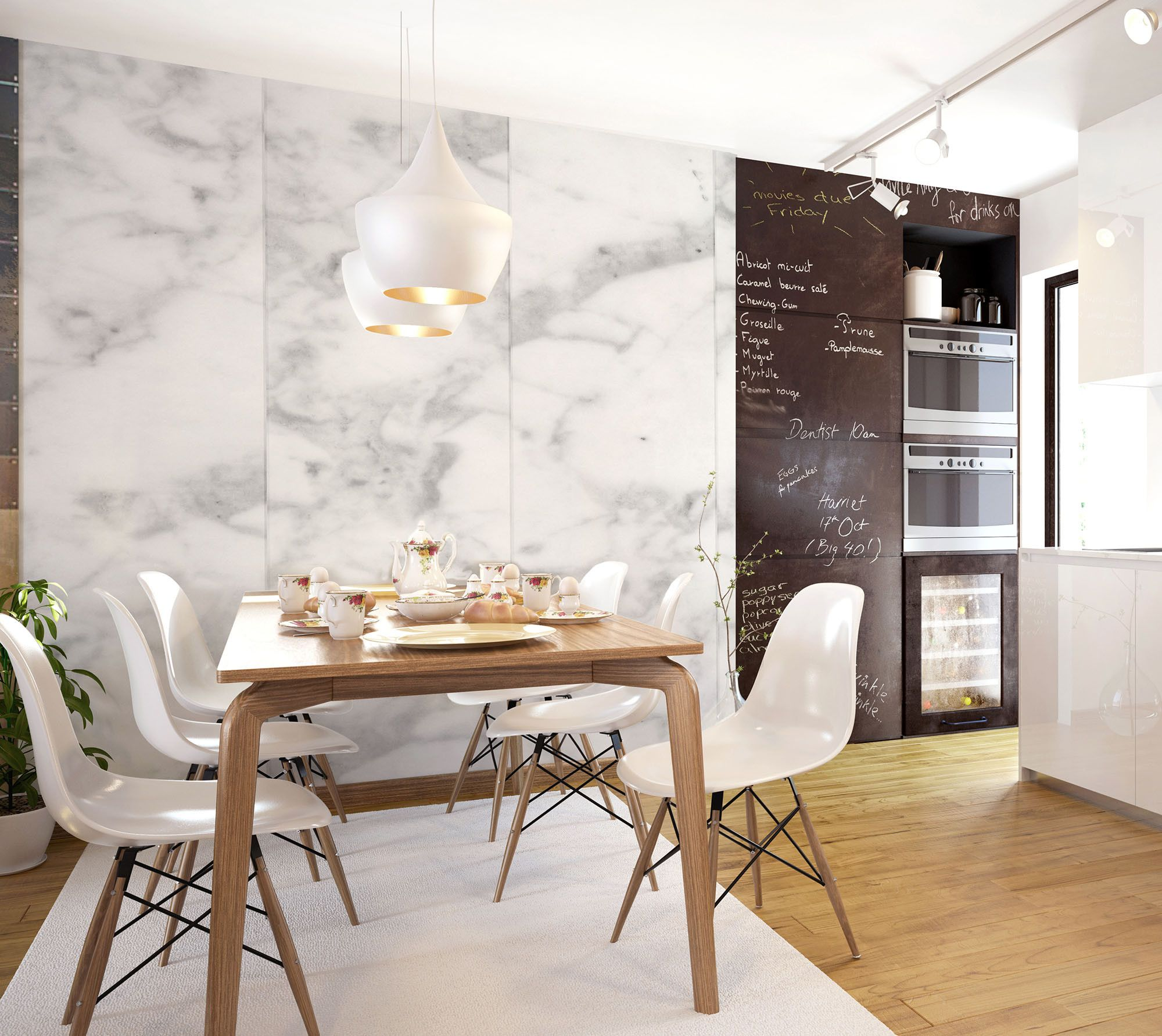 Classic Marble Wallpaper By Wynil, For A Refined And Trendy