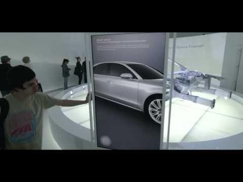 """Audi Cross-Over-Event Kopenhagen 2012 - Die """"Audi Sphere"""" - YouTube"""