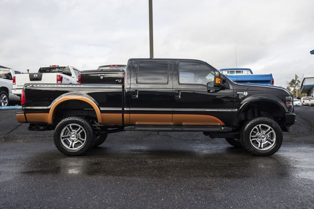 Lifted Stroke Sel 2008 Ford F 250 Harley Davidson 4x4 Truck For At Northwest Motorsport