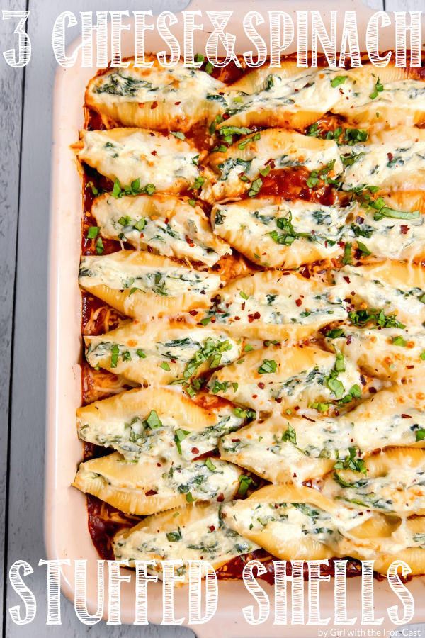 Photo of Stuffed Pasta Shells – Girl With The Iron Cast