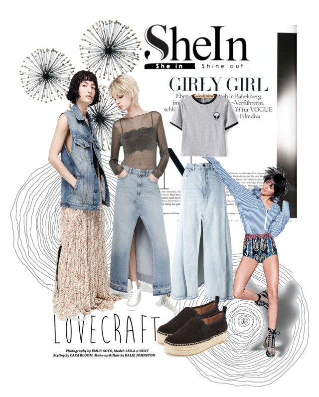 """SheIn"" by yvettemmh ❤ liked on Polyvore featuring Dot & Bo, Alexander Wang and Sam Edelman"