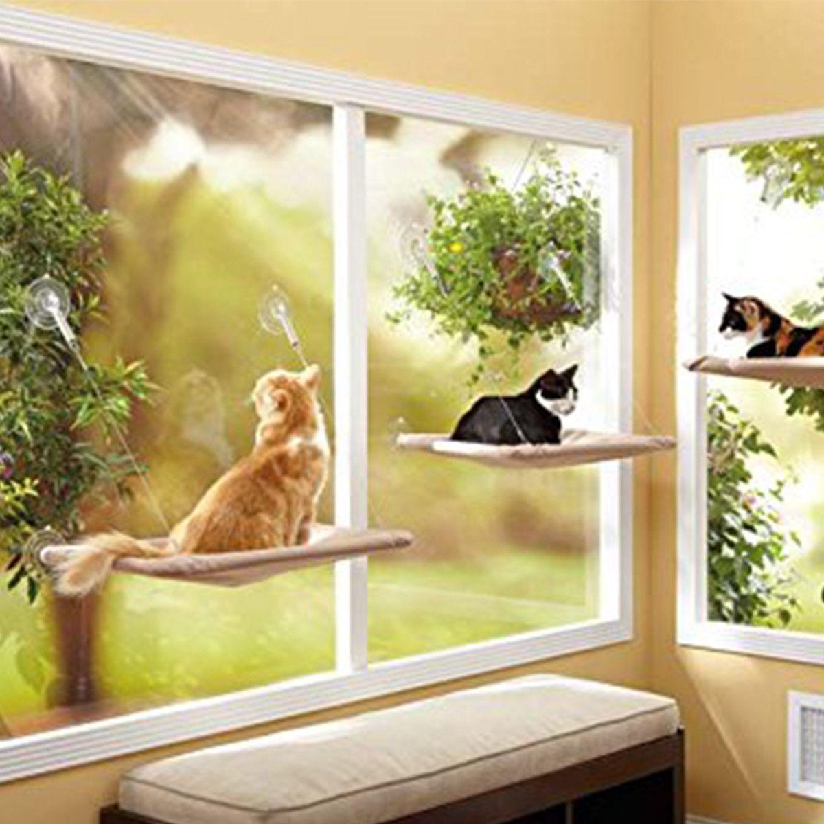 Pet Clever Window Mounted Bed Cat Window Cat Bed Cat Window Bed