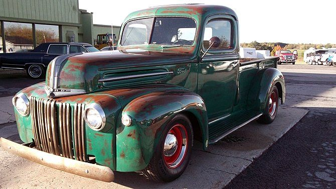 1946 Ford F100 Ford Pickup Trucks Vintage Trucks Classic Trucks