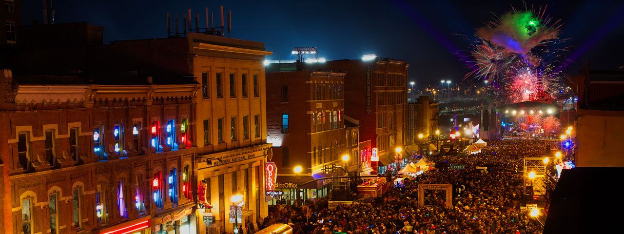Music City New Year's Eve Bash on Broadway Party in