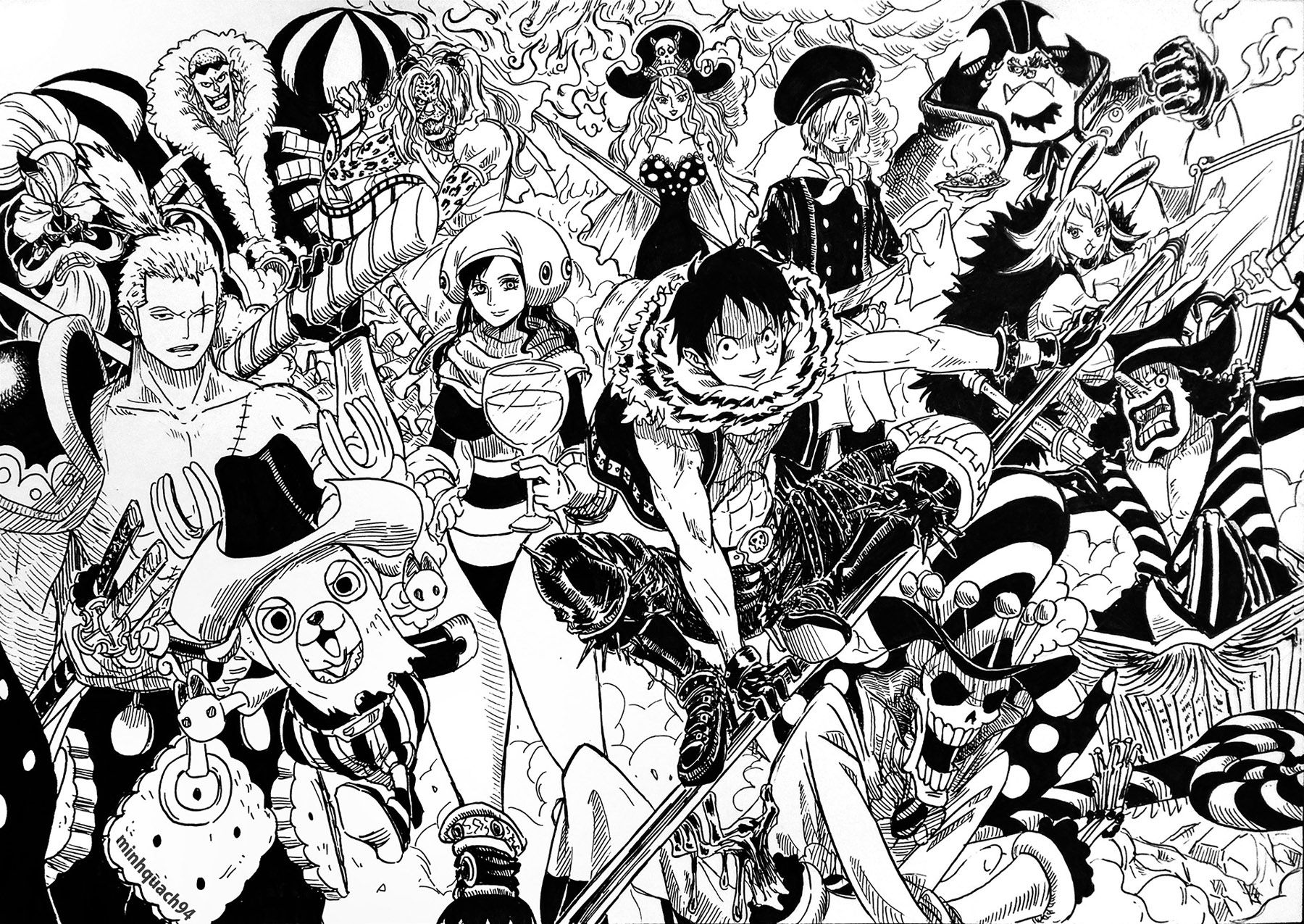 Read manga One Piece 885 - It's Brulee! online in high