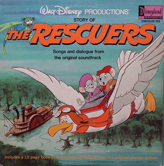 Rescuers Story Of The Walt Disney Productions Narrated