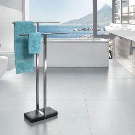 vrijstaand handdoekenrek | VB - badkamer | Pinterest