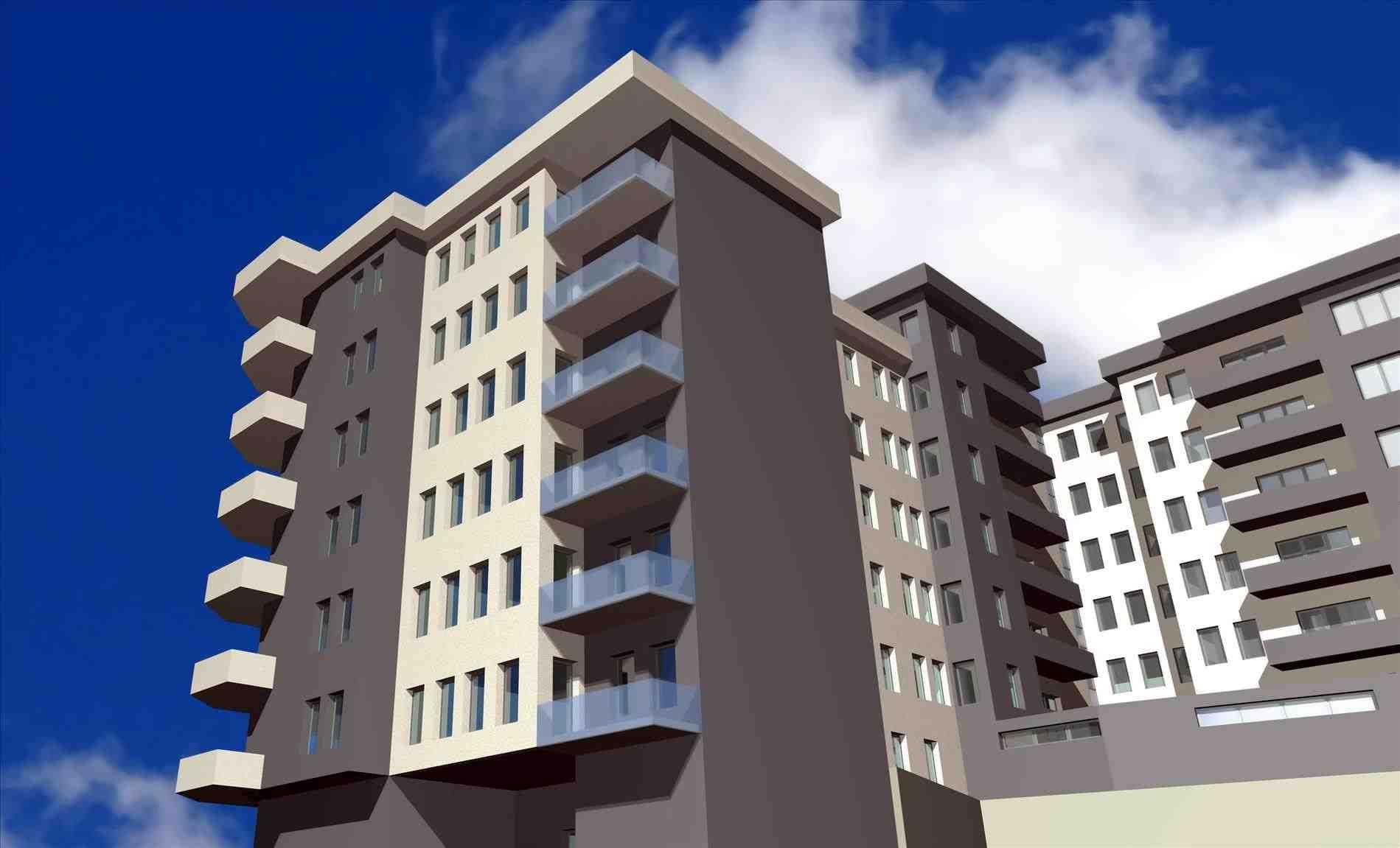 Apartment tetris | House elevation, Cool apartments, Front ...