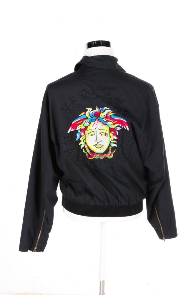 898fc3d06 Pin by BAGGAGE BOUTIQUE on THREADS | Versace jeans, Couture jackets ...