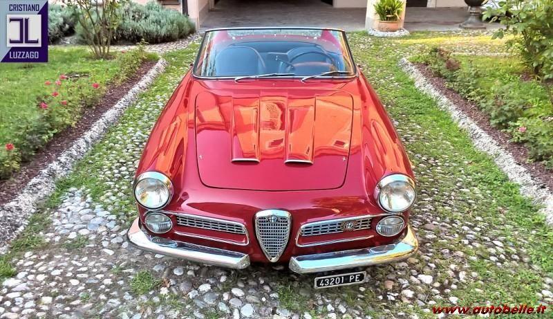 1961 ALFA ROMEO 2000 TOURING SPIDER