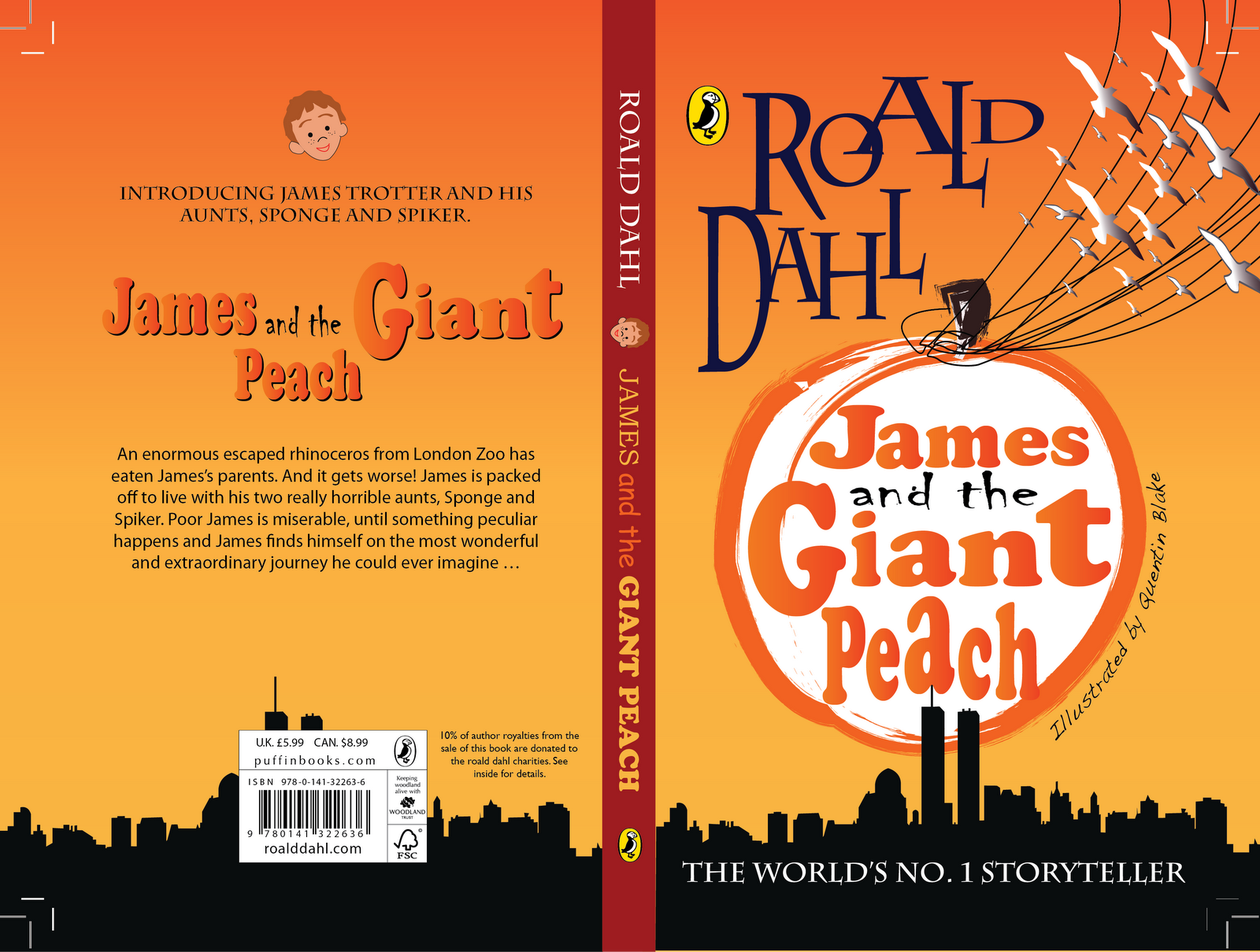 james and the giant peach text pdf