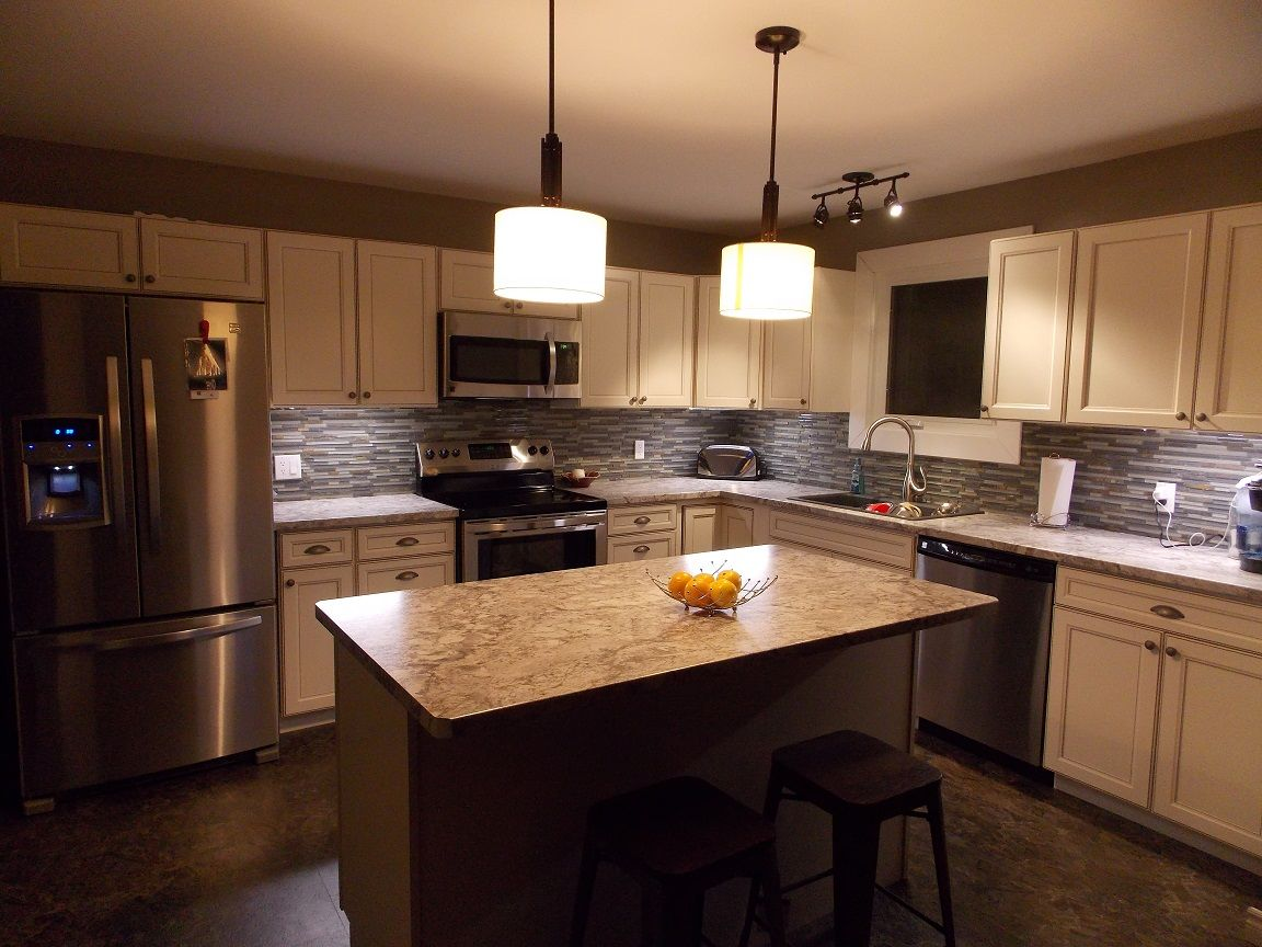 Caspian Kitchen from Lowes! Loving my new