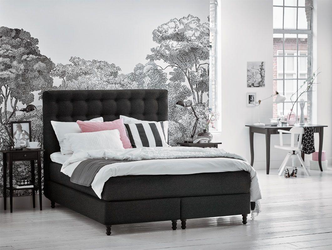 Ikea Slaapkamer Assortiment : Vallavik boxspring #ikea #ikeanl #boxspring #slaapkamer #zacht