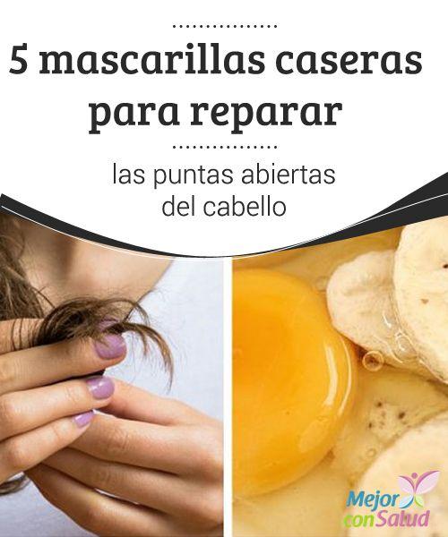 5 mascarillas caseras para reparar las puntas abiertas del cabello  La mayoría de las mujeres desea lucir una melena bonita y sedosa, pero con la sequedad y las puntas abiertas es casi imposible.