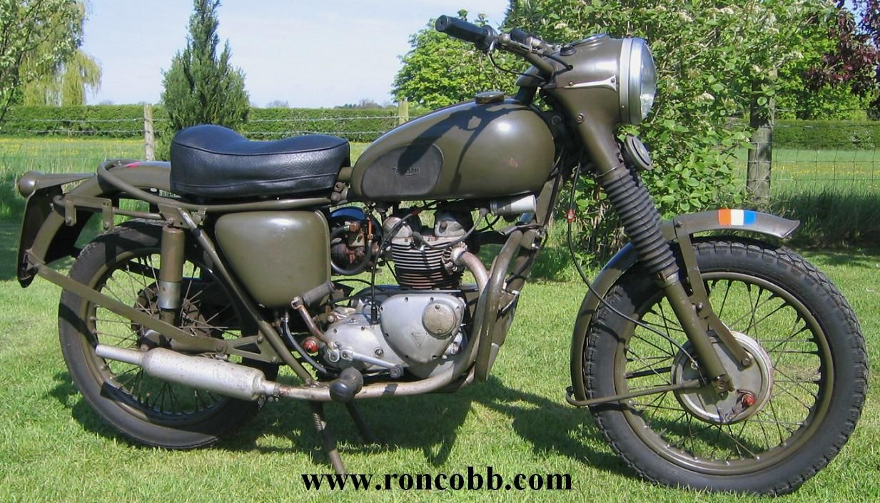 Old triumph motorcycles for sale 1967 triumph 3ta miltary motorcycle 350cc ohv for sale