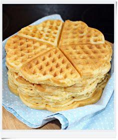 O melhor restaurante do mundo é a nossa Casa: Receita maravilhosa de Waffles salgados