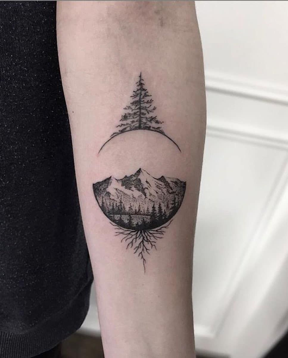 Photo of 101 Amazing Pine Tree Tattoo Ideas Will Love! | Outsons | Men's Fashion Tips And Style Guide For 2020