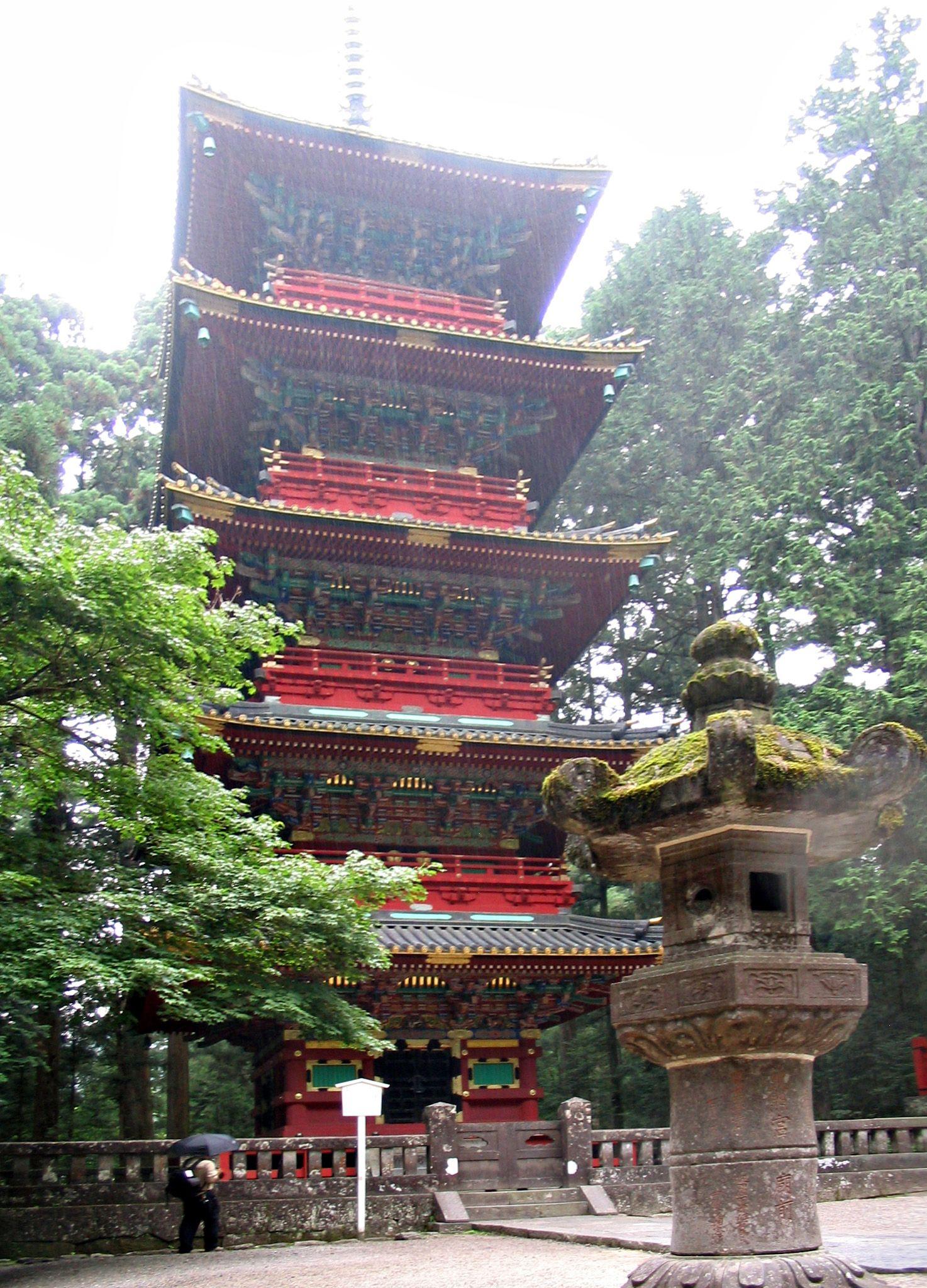 Pagoda at the Toshogu Shrine, Nikko, Japan. | Favorite ...