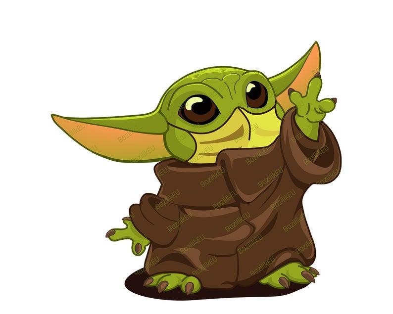 Baby Yoda Svg Mask Printable Bundle Mandalorian Baby Svg Star Wars Svg Disney Svg Tshirt Yoda Design Mug Baby Yoda Digital Print In 2021 Yoda Png Baby Svg Yoda Clipart