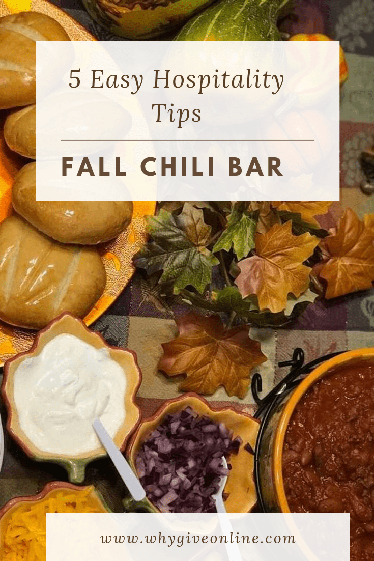 Easy Chili #chilibar