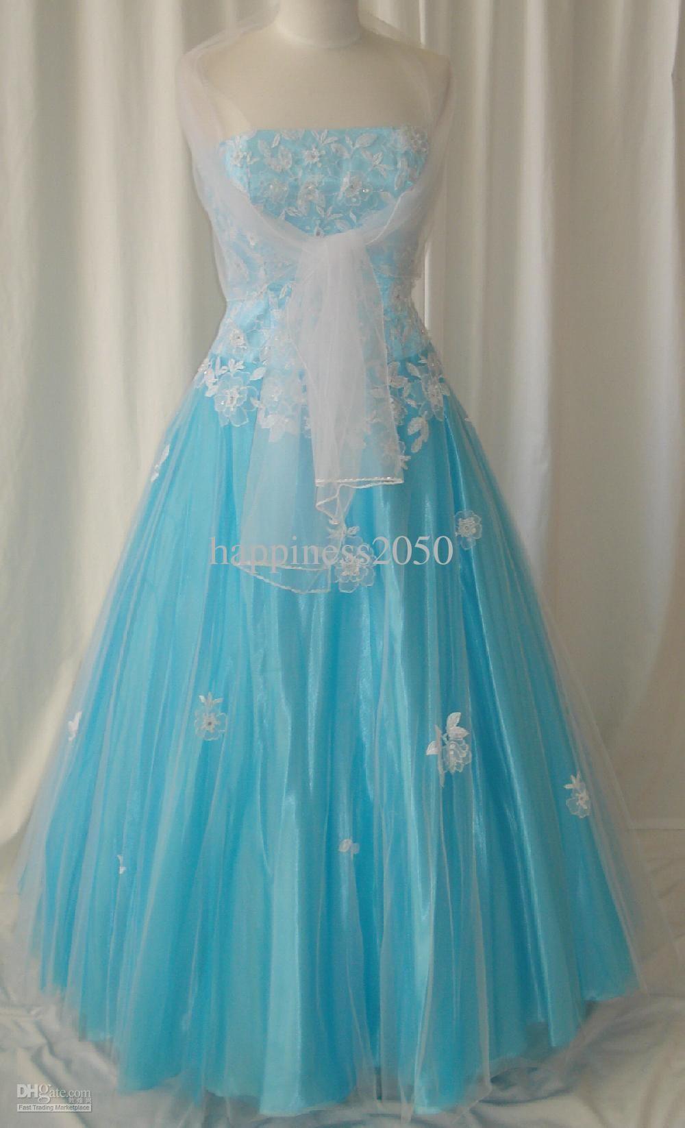 White light blue dress | Dresses | Pinterest | Pale blue dresses ...