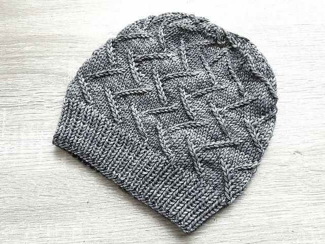 Ravelry: Irma Hat pattern by Aneta Gasiorowska | Knitting: Hats ...