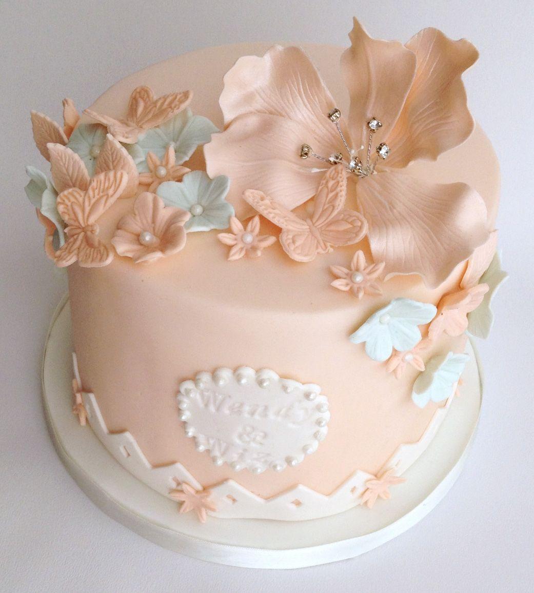 Wedding cakes one tier google search wedding cakes pinterest