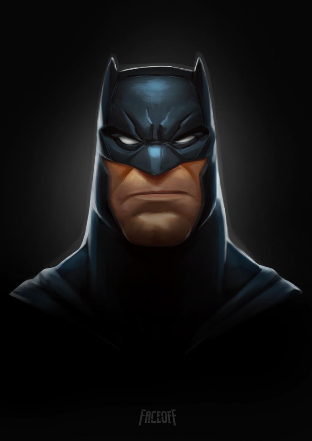 Artstation Batman Faceoff Corey Smith Joker Iphone Wallpaper Batman Batman Wallpaper
