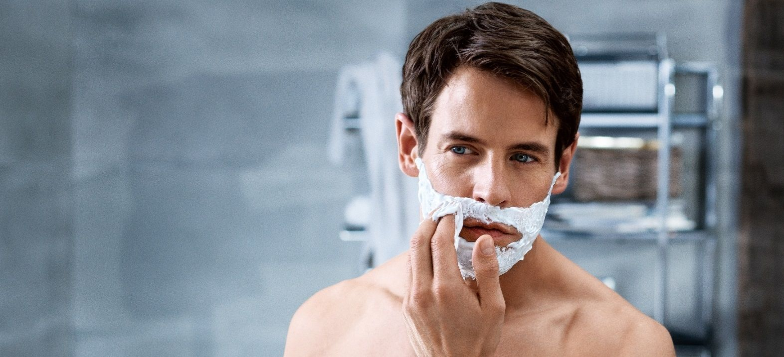 how to shave mustache without shaving cream