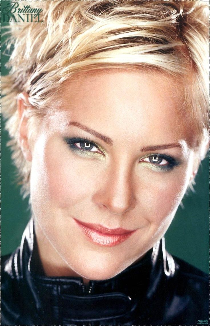 Brittany Daniel Kinda Missing My Short Hair But I Must