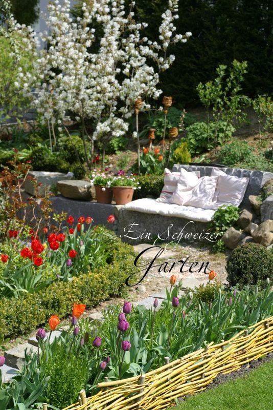 Ein Schweizer Garten Farben braucht das Leben... Garten
