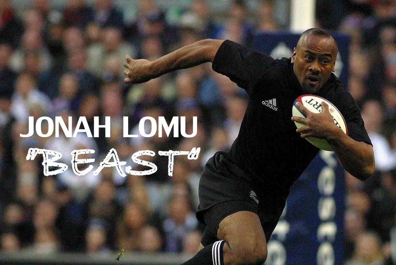 Jonah Lomu The Human Beast Career Tribute Jonah Lomu Jonah All Blacks