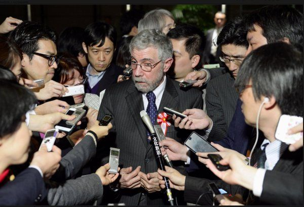 Paul Krugman ‏@paulkrugman  Mar 26 What I said in Tokyo: https://www.gc.cuny.edu/CUNY_GC/media/LISCenter/pkrugman/Meeting-minutes-Krugman.pdf …  Aftermath (no, I don't enjoy this sort of thing):