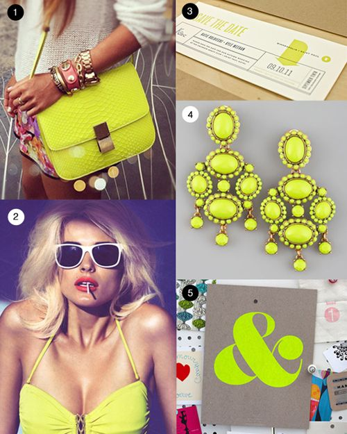 Mood Board: Captivated by Chartreuse | Birchbox