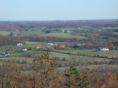 Pictures of Maryland:  Frederick - Sugarloaf Mountain, Maryland - This is the view from the top of Sugarloaf Mountain, Maryland. - photo via PlanetWare
