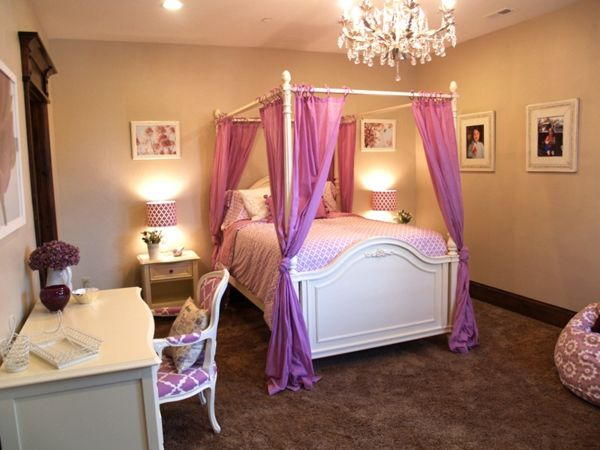 Jugendzimmer Mädchen - Einrichtungsideen für wachsende Mädels