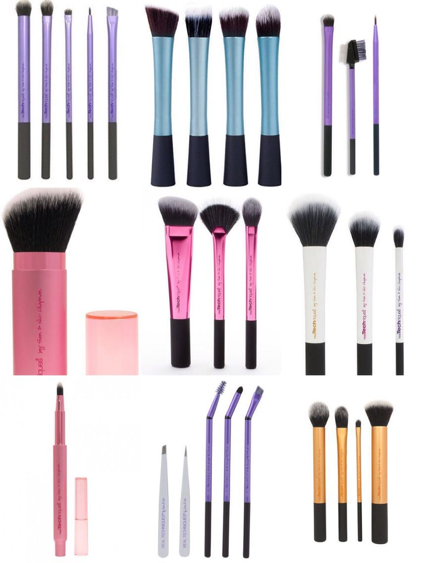 real techniques brushes and they are cruelty free love it beauty pinterest pinsel und. Black Bedroom Furniture Sets. Home Design Ideas