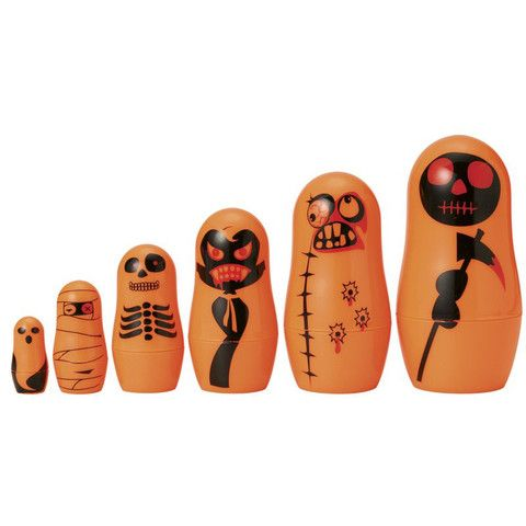 Matryoshka Madness 13005 Plastic Toy 6 Pieces