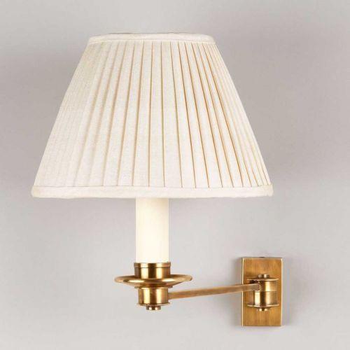 Library Single Arm Wall Light In 2020 Brass Wall Light Wall Lights Swing Arm Wall Light