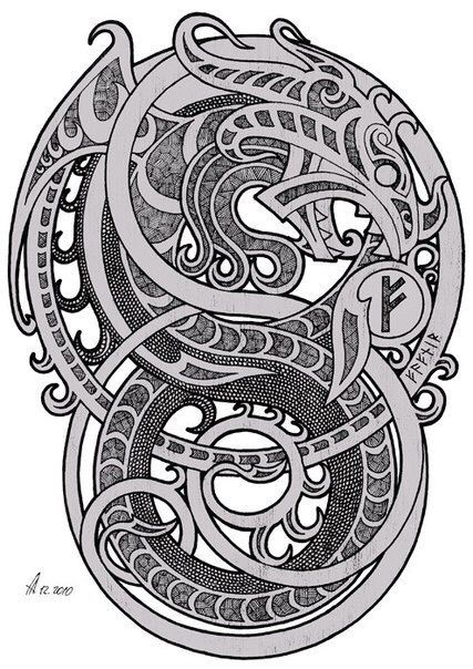 Tattoo Rusi Old Norse Tattoo Celtic Tattoo Nordic Tattoo