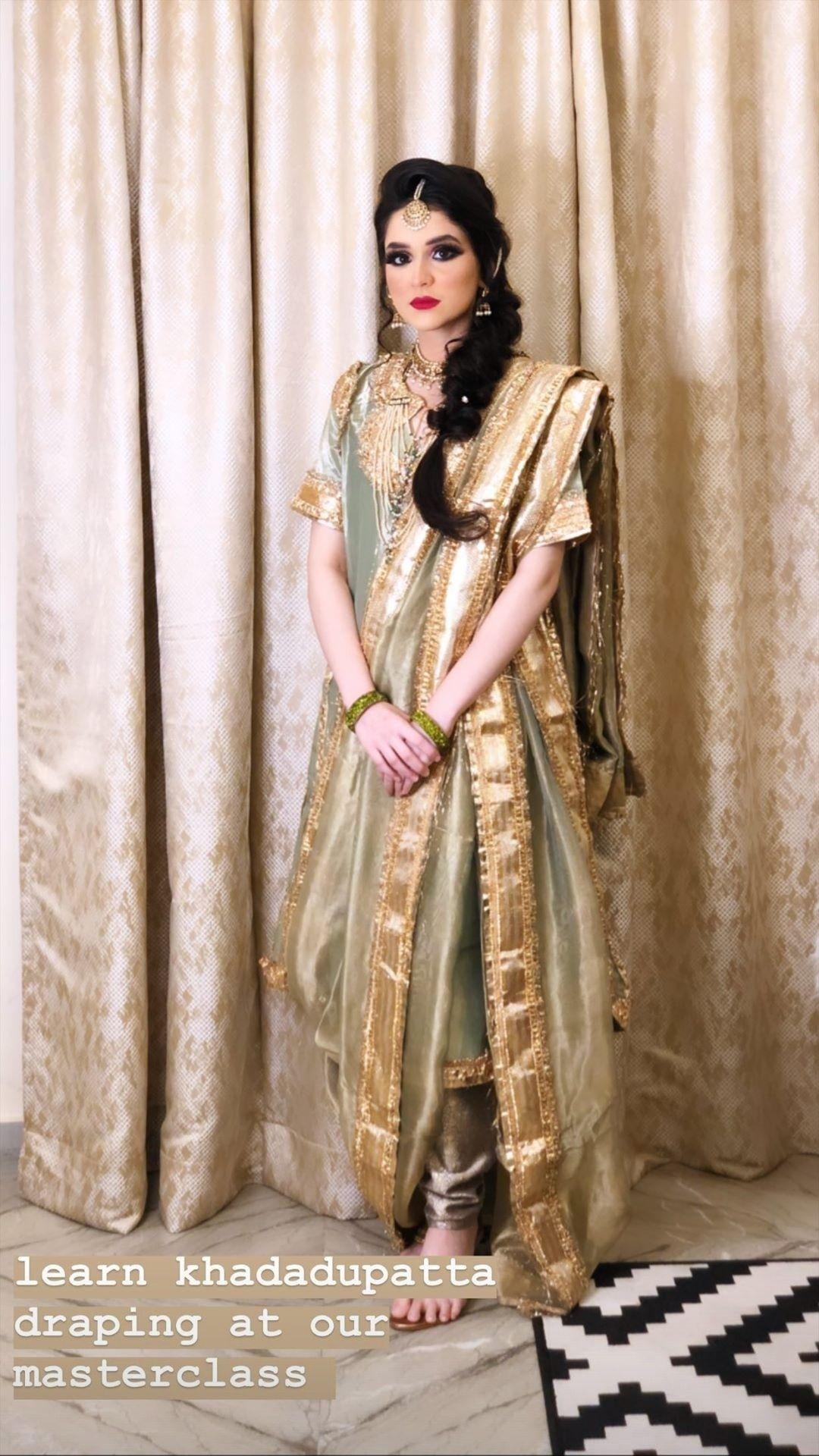 Green Khada Dupatta Hyderabad Bride Wedding In 2020 Indian Fashion Dresses High Fashion Wedding Dress Pakistani Bridal Dresses